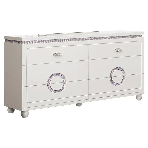 Rawles 6 Drawer Dresser by Rosdorf Park