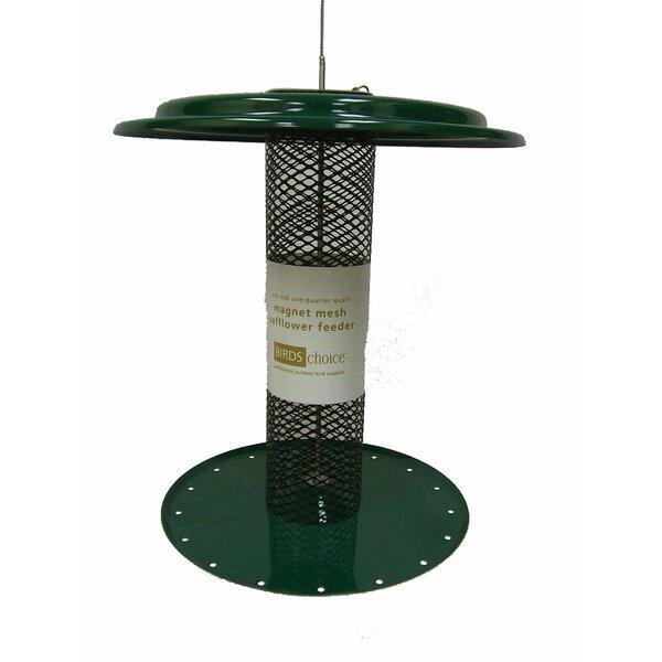 1.25 Quart Magnet Mesh Safflower Tube Bird Feeder by Birds Choice