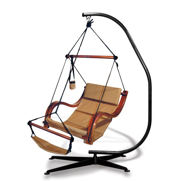 Nami Polyester Chair Hammock with Stand by Hammaka