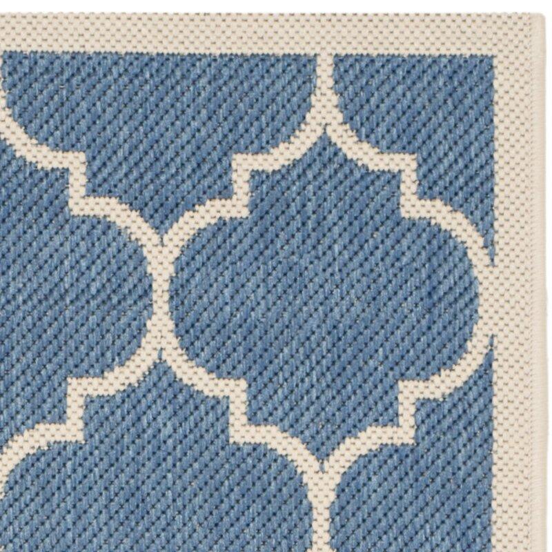 safavieh innen und au enteppich isaac in blau beige bewertungen. Black Bedroom Furniture Sets. Home Design Ideas