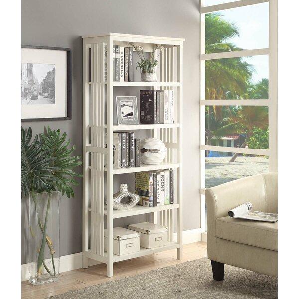 Morais 5-Shelf Standard Bookcase by Ebern Designs