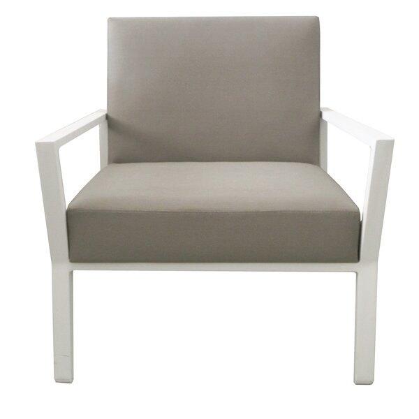 Thelonius Patio Chair with Cushion (Set of 2) by Brayden Studio