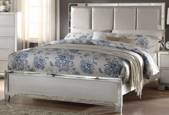 Hester Upholstered Standard Bed by Rosdorf Park