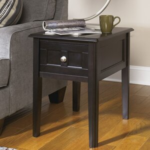 Arbor Downs Chairside Table by Alcott Hill