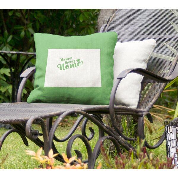 Home Sweet Indoor/Outdoor Throw Pillow