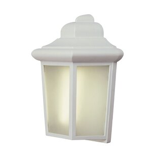 Savings 1-Light Outdoor Flush Mount By TransGlobe Lighting