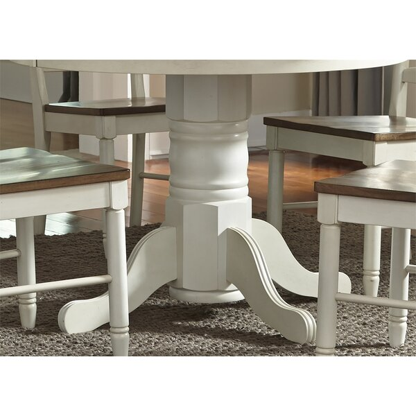 #1 Ruskin Dining Table By Rosecliff Heights Best