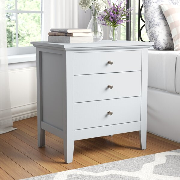 Sonja 3 Drawer Nightstand by Laurel Foundry Modern Farmhouse