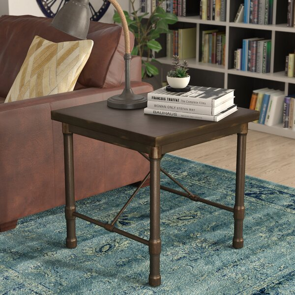 Selena Industrial End Table by Trent Austin Design