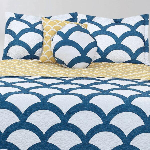 Lauren Taylor Merida Reversible Quilt Set by Maison Condelle