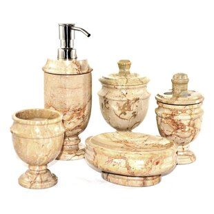 Affordable Price Siberian 5-Piece Bathroom Accessory Set By Nature Home Decor