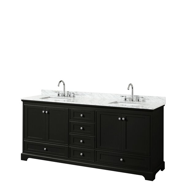 Deborah 80 Double Bathroom Vanity Set