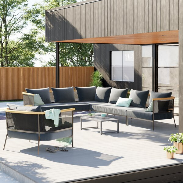 Riad Patio Sectional with Cushions by OASIQ