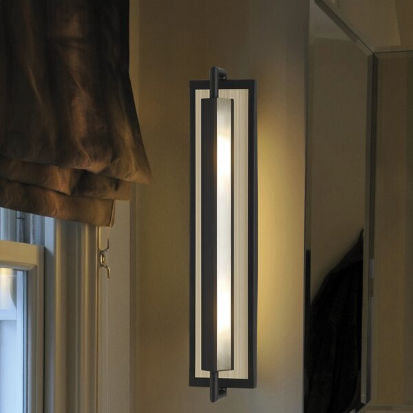 Feiss Mila 1 Light Wall Sconce Amp Reviews Wayfair