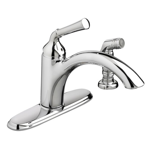 Portsmouth Single handle Kitchen Faucet with Side Spray by American Standard
