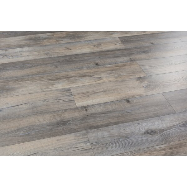 Alice Adventures 8 x 49 x 12mm Laminate Flooring in Brown (Set of 4) by Christina & Son
