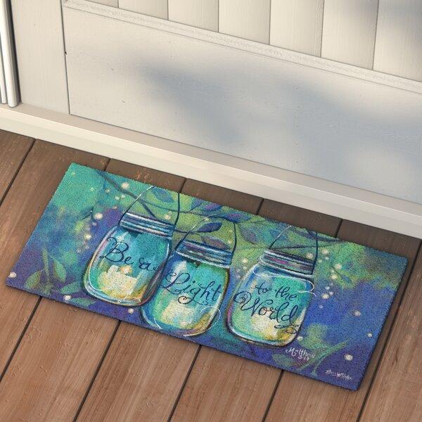 Gill Be a Light Sassafras Doormat by Andover Mills