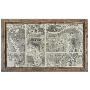 Treasure Map Framed Graphic Art by Laurel Foundry Modern Farmhouse