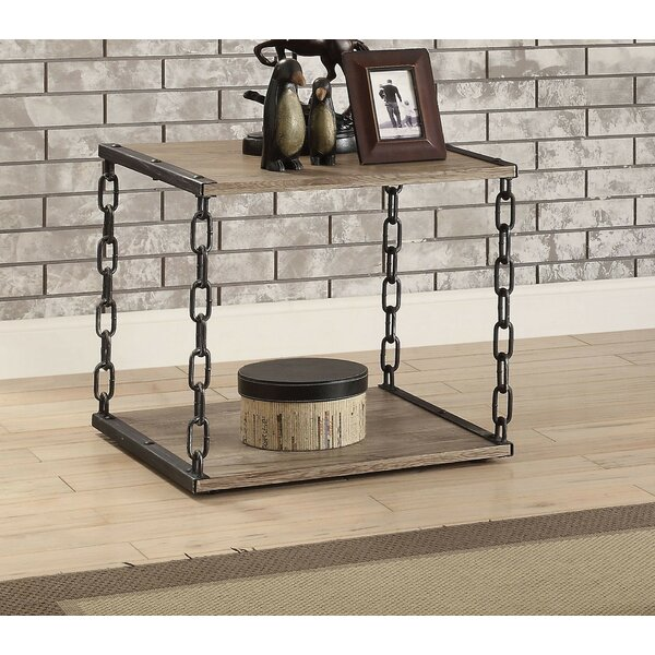 Rogan End Table by 17 Stories