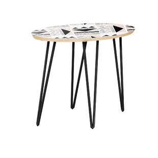 Howerton End Table by Bungalow Rose