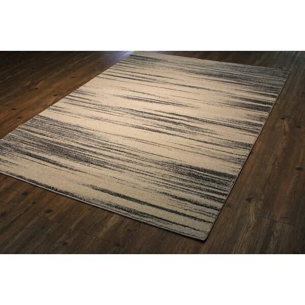 Lopp Persian Ivory Area Rug by 17 Stories