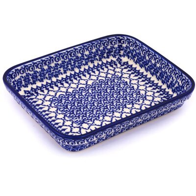 Polish Pottery Rectangular Baker by Polmedia