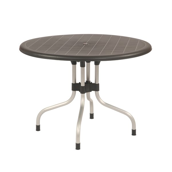 Escarcega Plastic Bistro Table by Ivy Bronx