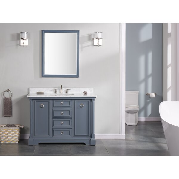 Haffenreffer 48 Single Bathroom Vanity Set by Three Posts
