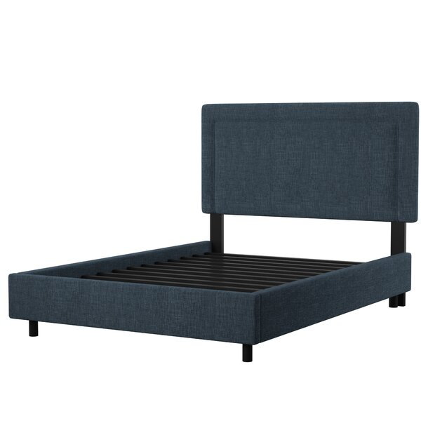 Mascorro Upholstered Standard Bed by Mercury Row