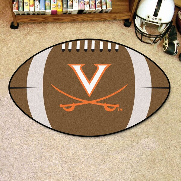 NCAA University of Virginia Football Doormat by FANMATS