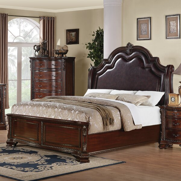 Upholstered Panel Bed by Wildon Home ®