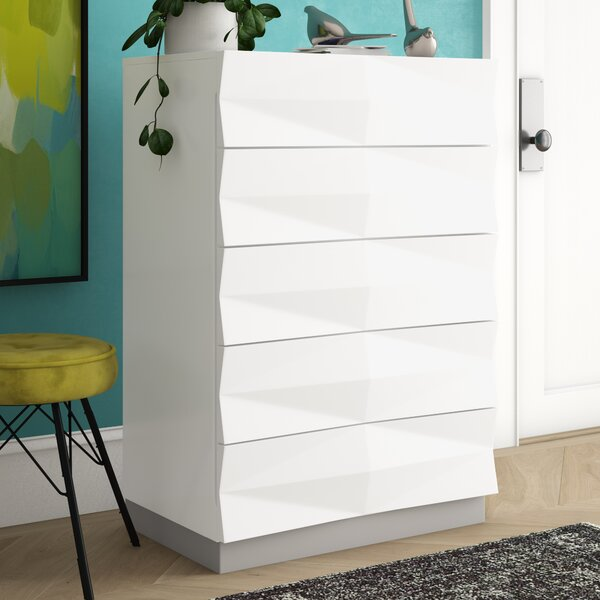 Baldree 5 Drawer Chest by Brayden Studio Brayden Studio