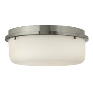Turner 2-Light Flush Mount By Hinkley Lighting