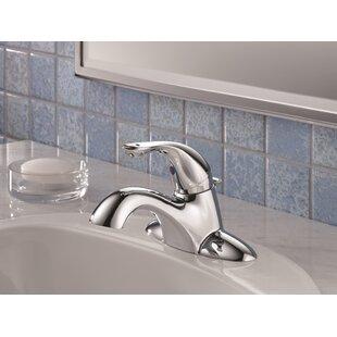 Deals Centerset Lavatory Faucet with Pop-Up Drain ByDelta