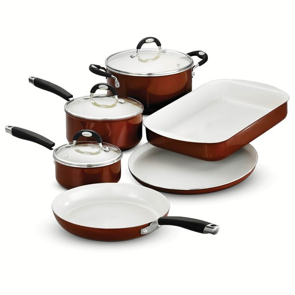 Style Ceramica 9 Piece Cookware Set by Tramontina