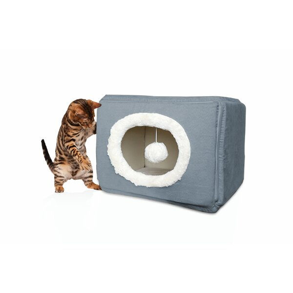 Huntsman Cozy Cube Cat/Dog Pet Bed by Tucker Murphy Pet