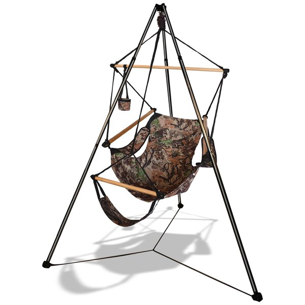 Epworth Hammaka Chair Hammock with Stand by Freeport Park