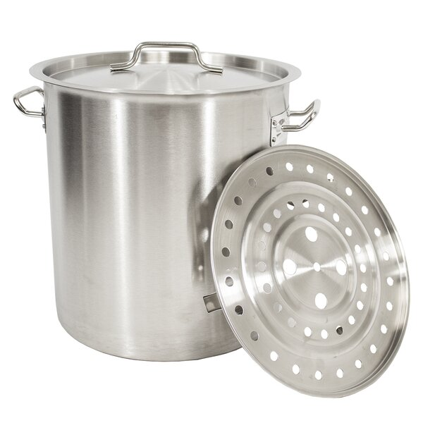 24 qt. Stock Pot with Lid by Gas One