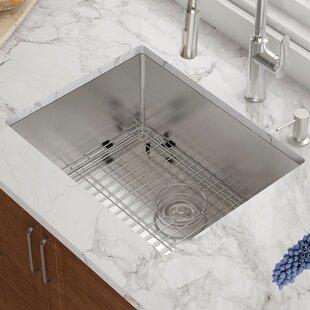 Deep kitchen sink wayfair 23 x 18 undermount kitchen sink workwithnaturefo