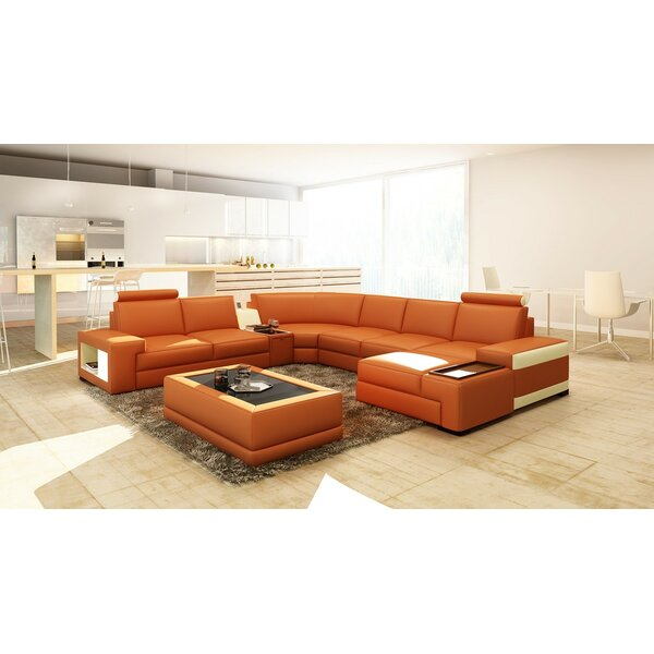 Bellair Samba Sectional by Orren Ellis