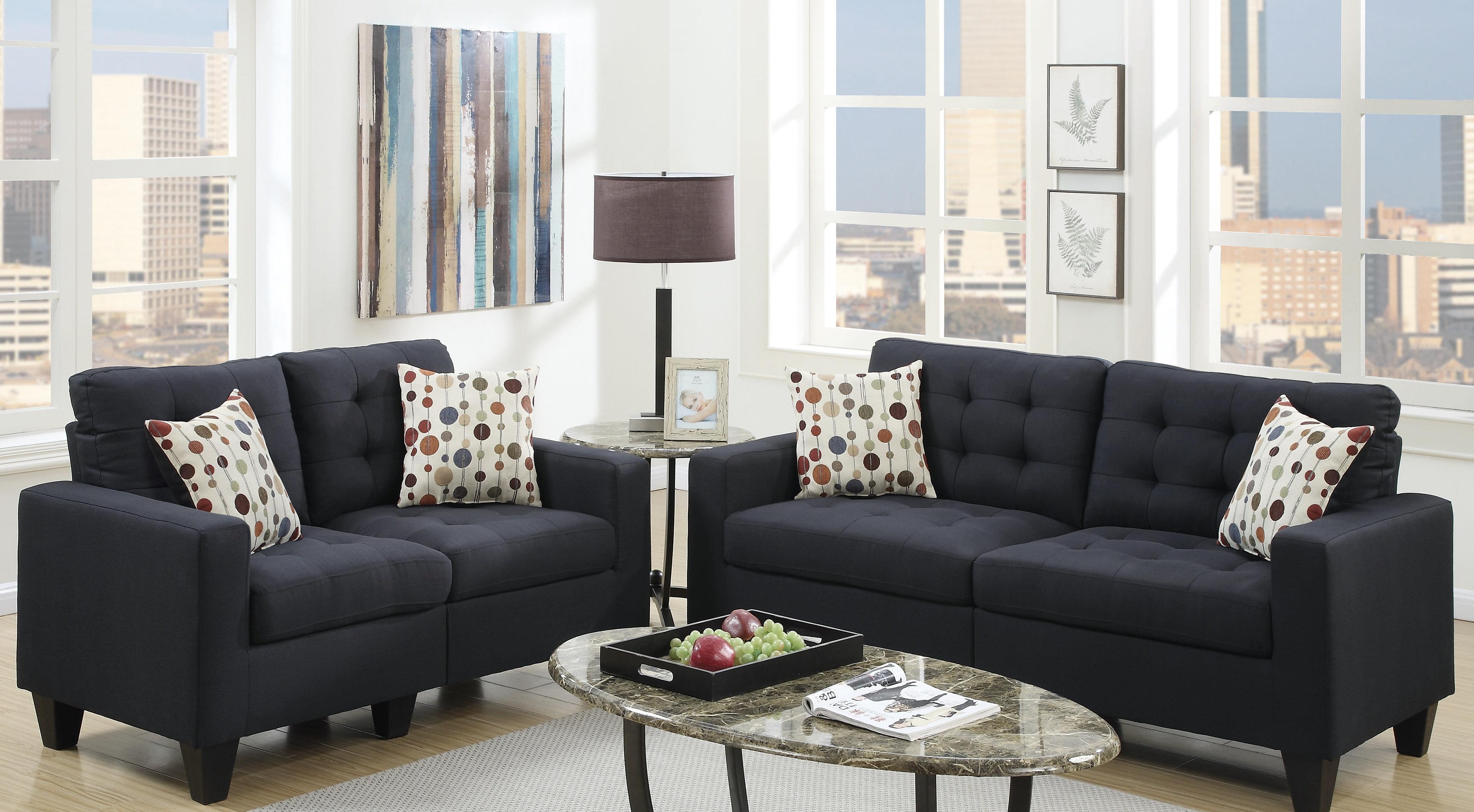 Andover Mills™ Callanan 2 Piece standard Living Room Set & Reviews