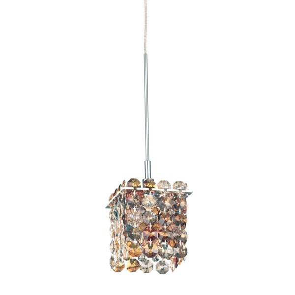 Matrix 1-Light Crystal Pendant by Schonbek