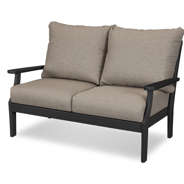 Braxton Deep Seating Settee by POLYWOOD®