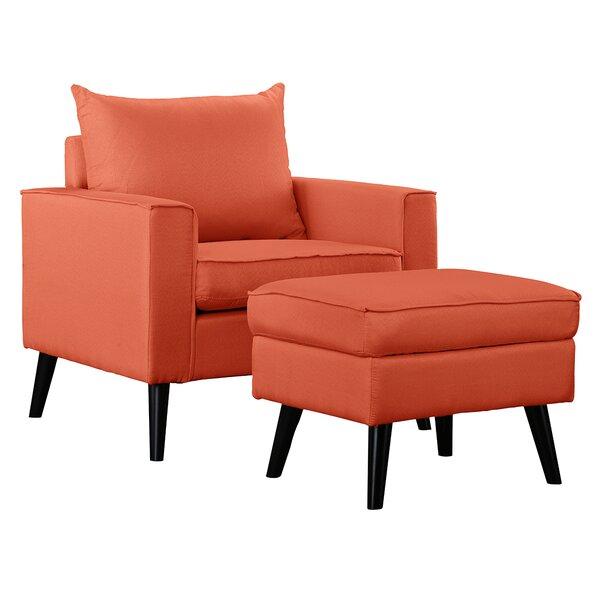 @ Brisson Arm Chair and Ottoman by Ebern Designs| #$213.99!