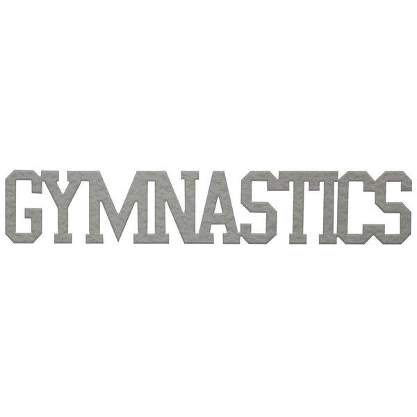 Gymnastics Word Wall Décor by 7055 Inc
