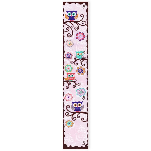 Kleckner Whimsical Owl Growth Chart by Zoomie Kids