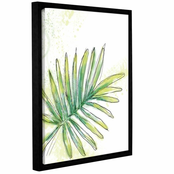 'Garden Tropical Two' by Jan Weiss Framed Painting Print by Bay Isle Home