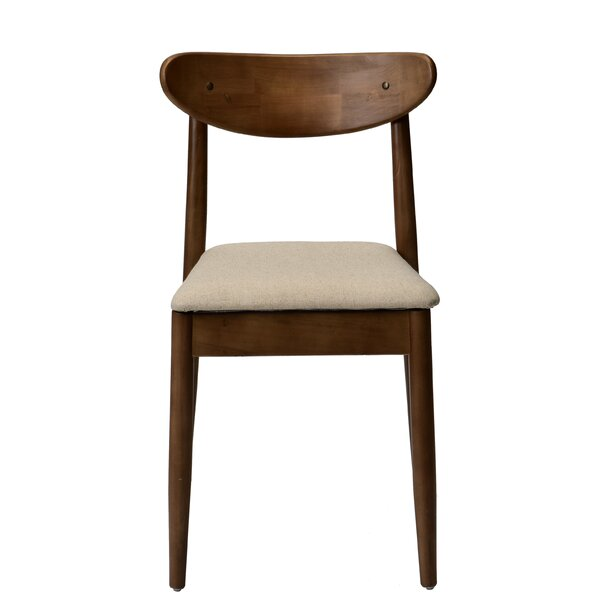 Helina Solid Wood Dining Chair by Gracie Oaks