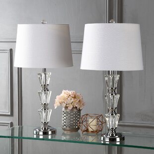 Best Reviews Pavonia 27 Table Lamp (Set of 2) By Rosdorf Park