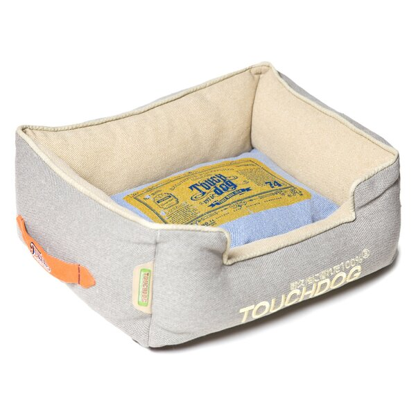 Original Denim Classical Rectangular and Reversible Dog Bed by Pet Life